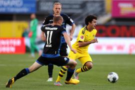 Mateu Jaume Morey debuta con victoria en la Bundesliga
