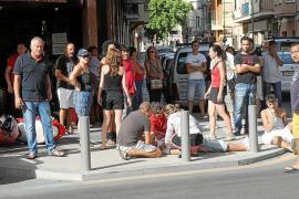 Reacción vecinal ante el último accidente mortal registrado en la calle Balmes