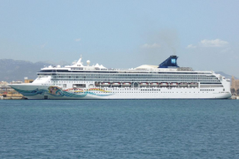 La llegada de cruceros a Palma, un «peligro potencial»