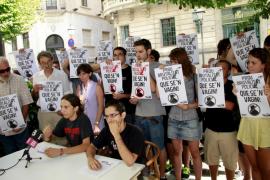 Protesta en Palma por la detención de un maulet que se negó a hablar castellano
