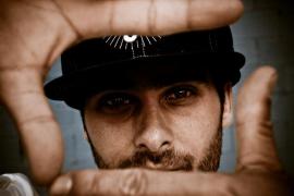El rapero Ivan Nieto en concierto