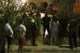 Una joven de 23 años, herida grave al caer desde un primer piso en Son Xigala