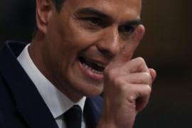 Sánchez achaca las críticas a Marlaska por destituir a De los Cobos a que está destapando la policía patriótica