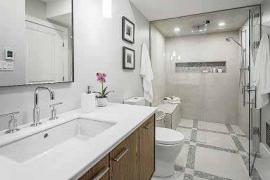 Un cuarto de baño natural