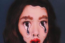Una artista crea ilusiones ópticas increíbles usando su rostro como lienzo
