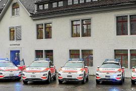 Las flotas de policía de Europa eligen los eléctricos de Hyundai