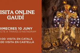 Visita 'online' a la reforma de Gaudí en la Catedral de Mallorca