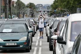 Los trabajadores de Nissan colapsan la Diagonal de Barcelona