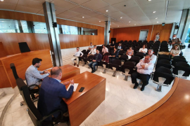 Una imagen de la reunión.