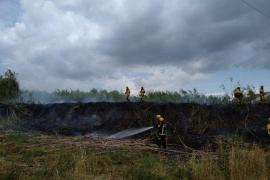 Extinguen un nuevo incendio en Sa Pobla, que este miércoles ya sufrió otros tres
