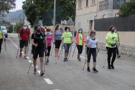 Las primeras salidas de nordic walking en Palma