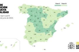 Así queda el mapa de la desescalada en España