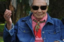 Chavela Vargas, hospitalizada en Madrid