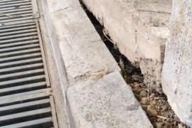 Críticas por el mal estado de las calles de La Vileta