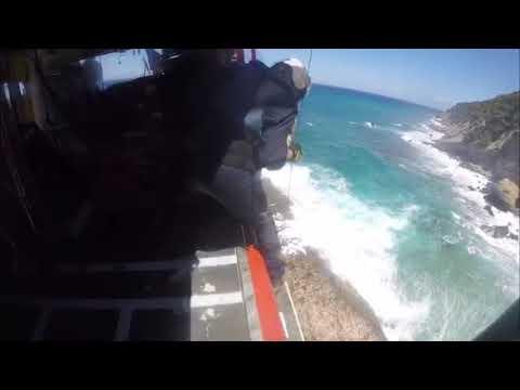 Salvamento Marítimo rescata a un joven en Banyalbufar