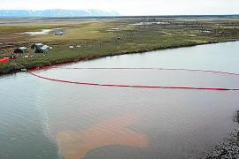 Un escape de diésel en una central rusa causa una catástrofe medioambiental en el Ártico