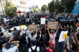 La ira ante la brutalidad policial llega a México por muerte de un detenido