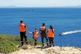 Hallado el cuerpo de un hombre en alta mar frente a Cala Deià