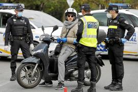 Un 10 % de las multas impuestas en Baleares en el estado de alarma ya se tramitan