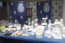 Prisión con fianza para el detenido en un laboratorio de droga de Son Cotoner