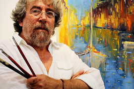 El pintor Emili Parejo hará una 'performance' colectiva durante la Nit de l'Art de Valldemossa