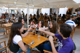 Los bares y restaurantes de Baleares podrán abrir con un aforo del 75 %