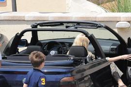 Claudia Schiffer en Mallorca