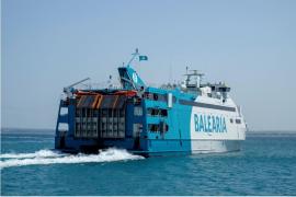 Un ferry de Baleària.