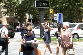 Mallorca está en alerta amarilla por calor