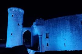 Nuevo alumbrado del Castell de Bellver