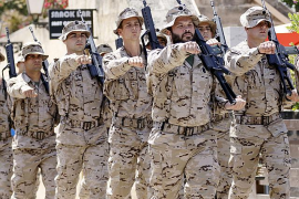 Más de un millar de personas de las Islas solicitaron ingresar en el Ejército en 2011