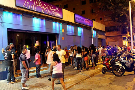 La Policía Local precinta una discoteca de Palma por falta de seguridad