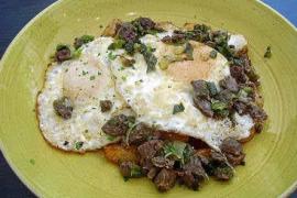 Huevos fritos: la perfección, dos veces seguidas