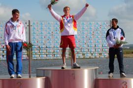 Marcus Cooper logra dos medallas en el Europeo júnior