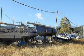 Los empresarios de las marinas secas de Andratx 'rompen' con el Ajuntament