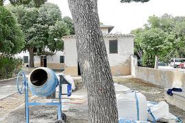 Arrancan las obras del Psiquiátrico, que será una zona verde para Palma
