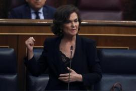 Carmen Calvo acusa a las CCAA del retraso en el pago de los ERTE