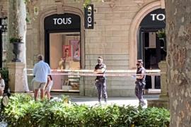 Fallece un hombre en un céntrico paseo de Palma