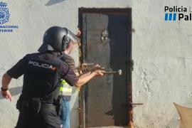 Cinco detenidos en el Molinar por robar en casa de un familiar al que consideraban un chivato