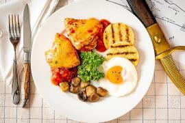 Pollo Marengo: después de la batalla, un plato improvisado