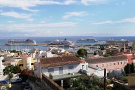 Los cruceros consumieron en Palma 200,8 millones de litros de agua en 2019