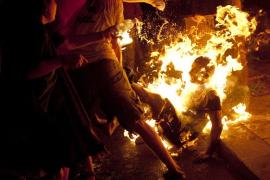 Conmoción en Israel por el intento de inmolación en una protesta de indignados