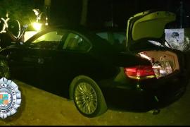 Detenido un conductor en Sant Josep con 300 gramos de marihuana