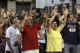Cientos de funcionarios protestan en Madrid por los recortes