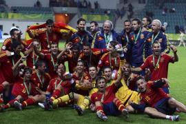 Jesé dirige a la selección sub-19 a su sexto título europeo