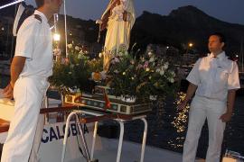 Procesiones marineras en honor de la Verge del Carme