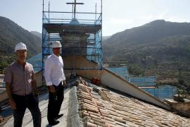 La reforma de la iglesia de la Cartoixa entra en su fase final «sin ayudas»
