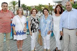 Fiesta de inauguración del hotel Sol Wave House de Magaluf