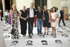 "Bernardí Roig inaugura ""Walking on faces"" en Sa Llonja"
