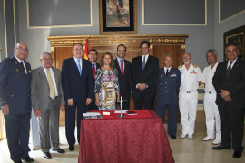 Juramento en el cargo del coronel Manuel Fernández-Roca Teigell